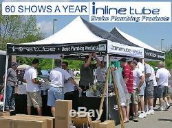 2004-08 Chevrolet Malibu Preformed Fuel Return Vapor Gas Line Kit Set 2 Tubes OE