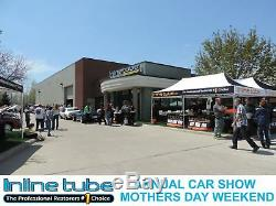 2004-08 Chevrolet Malibu Preformed Fuel Return Vapor Gas Line Kit Set 2 Tubes SS