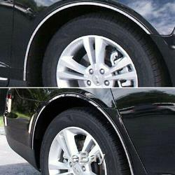 8p Luxury FX Chrome Fender Trim withGasket (Full Length) fit for 09-12 Lincoln MKS