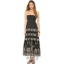 ALICE + OLIVIA BNWT Cotton Voile Lysa Maxi Skirt Dress was £370 US10 UK12 fit 14