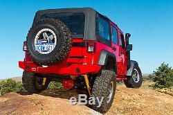 ARB Rockbar Rear Bumper fits 07-18 Jeep Wrangler JK JKU 5650200 Black