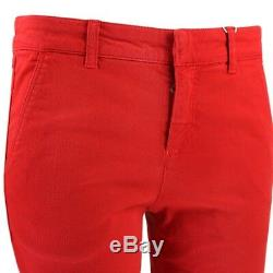 Alexander McQueen Red Denim Skinny Fit Jeans IT40 UK8