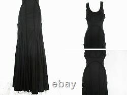 All Saints Appeley Maxi Dress Black Hourglass Fishtail Gothic 14 Bnwt £395 Boxed