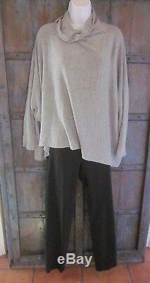 Annette Gortz Womens Black Pants Slim Leg Stretch Fabric 38 Fits Size 6 $425.00