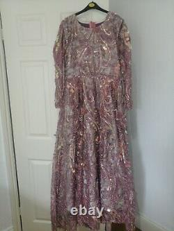 Asian Wedding MAXI Style, Fit And Flare Dress, Size 14, Recent Fashion