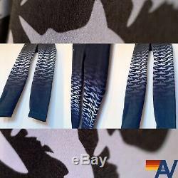 Aviator Nation Women's Shark Full Length Leggings Charcoal Size S Small AV Ombre