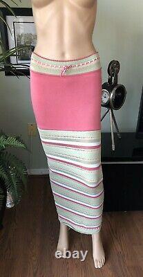 Azzedine Alaia Vintage Maxi Skirt Size XS