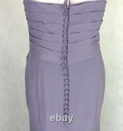 BERKETEX Bride Evening Maxi Bridesmaid Dress SIZE UK 16 Sweetheart Fitted Lilac