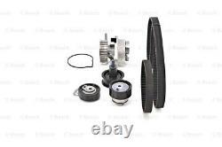 BOSCH Timing Cam Belt Kit + Water Pump Fits Seat Skoda VW Polo 1.4-1.6L 1997