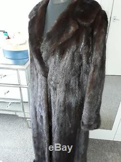 Beautiful Full Length Fitted Mink Coat