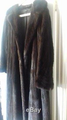 Beautiful Full Length Fitted Mink Coat