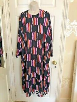 Bitte Kai Rand Dress Size 2 Loose Fit Multi Coloured Fit 16/18 +