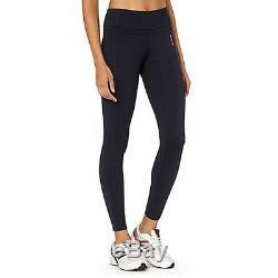 Bnwt Reebok Skinny Leggings Ladies / Womens Gym Fitness Training Navy Blue