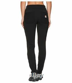 Carhartt Force Utility Knit Pants Black Women's Size XS 0911