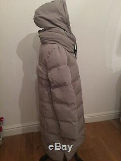 DKNY FULL LENGTH PUFFER COAT SIZE Large Fits 16 Brand New Colour Thistle