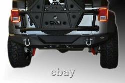 DV8 Offroad RBSTTB-09 07-18 FITS Jeep Wrangler JK Rear Bumper Full Length