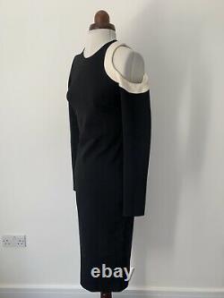 David Koma Fitted Maxi Dress 08UK 04US BNWT