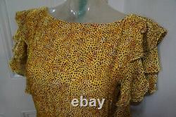 Dhela dress by Daniella Helayel Velour sz US4 UK 8 BNWOT RRP £895 will fit 8-10