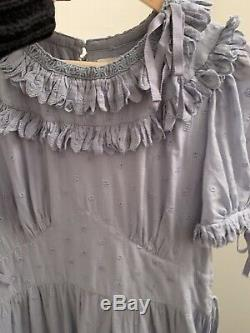 Doen Fiore Dress In French Blue Size Large (can Fit 10-14)