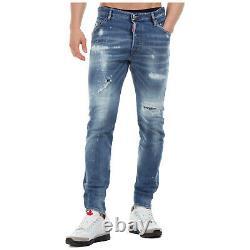 Dsquared2 jeans men classic kenny S71LB0721S30664470 pants denims blue slim fit