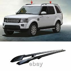 Evolved Full Length Roof Rail Kit (Black Finish) fits Land Rover Discovery 3 & 4
