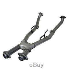 Exhaust Pipe-Full Length X Pipe 1661 fits 86-93 Ford Mustang 5.0L-V8