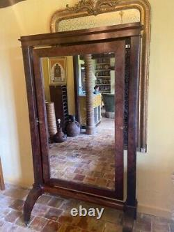 Fabulous French Antique Full Length Cheval Mirror, Dressing Room, Fitting Room