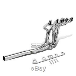 Fit 81-86 Jeep Cj-7 4.2L L6 T304 Stainless Steel 6-2-1 Full Length Header+Y-Pipe
