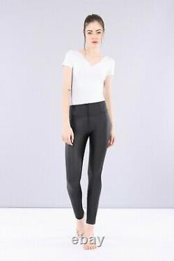 Freddy WR. UP Shaping Effect High Rise Women Pants Skinny Fit Faux Leather Black