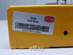 Full Length Witter Yellow Rear Step For Ford Transit Van Platform Stud Grip Step