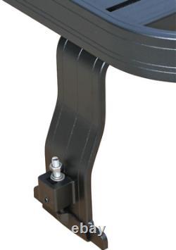 Full length black aluminium roof rack light weight Fits Land Rover Defender 90
