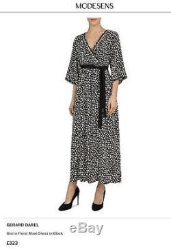 GERARD DAREL £320 Designer Gloria Floral Maxi Dress Current, S. 36 Fits UK10