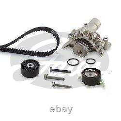 Gates Timing Cam Belt Water Pump Kit KP15528XS Fits Citroen Peugeot Fiat