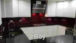Granite worktop and quartz white KITCHEN WORKTOPS, supply and fitting Full Length