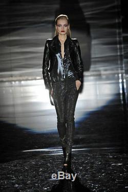 Gucci Runway Shimmering Sequins Pants Skinny Fit Leggings $3,650 It 40 / Us 4