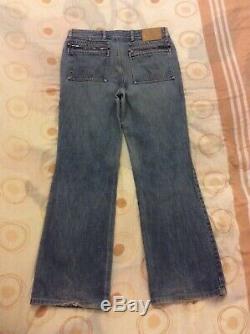 Gucci Women's Regular Fit Blue Jeans Waist 31 Inside Leg 30.5 SIZE 46 OR UK 14