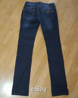 Gucci Womens Jeans Straight Leg Size 30 Fit W28 L34