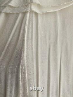 H&M SS 19 Conscious Collection Dress UK4 US0 EUR32 Oversized Fit Asymmetric Hem