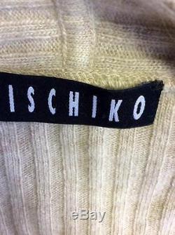 Ischiko Fawn Sleeveless Jumper, Cardigan & Long Skirt Size 36/40 Fit Uk 10/12