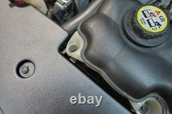JLT 05-09 Fits d Mustang GT/V6 Black Textured Full Length Radiator Support Cover