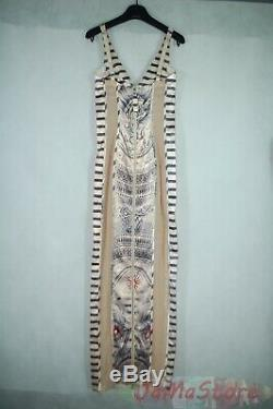Jean Paul Gaultier for Lindex tattoo long fitted dress Size XS