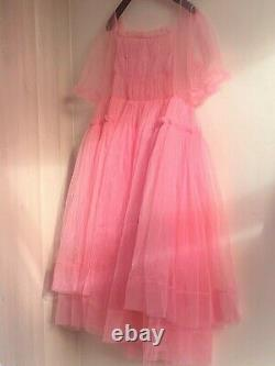 Killing Eve Villanelle pink dress handmade exact replica, very rare! Fits 8-16