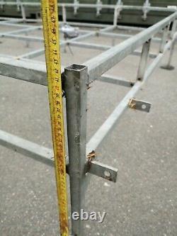 LAND ROVER DEFENDER 90/110 Full Length Roof Rack & Ladder Fittings Included