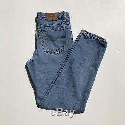 LEVI'S 550 Wedgie Fit Student Jeans Size 27 Re/Done Vintage Made in USA