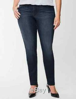 Lane Bryant Womens Skinny Genius Fit Jeans Size 22 Short