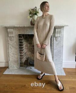 Loulou Studio Paris Ribbed Maxi Dress Size Small New Aso