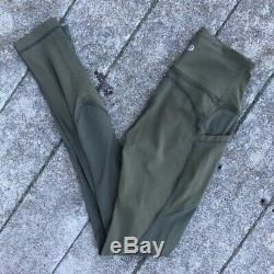 Lululemon 2 Fatigue Green All The Right Places ATRP Pants Full Length Original