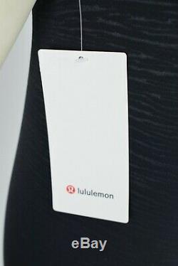 Lululemon Align Pant Legging Sz 4 28 Full Length Stride Emboss Black Yoga NWT