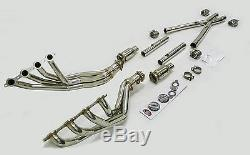 Maximizer Catted Full Length Header Exhaust Fit 2005-2007 Corvette C6 6.0L LS2