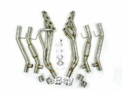 Maximizer Full Length Header Set Fits 05 06 07 08 09 10 Ford Mustang GT 4.6L V8